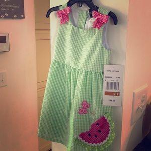 BRAND NEW watermelon 3T dress ❤️